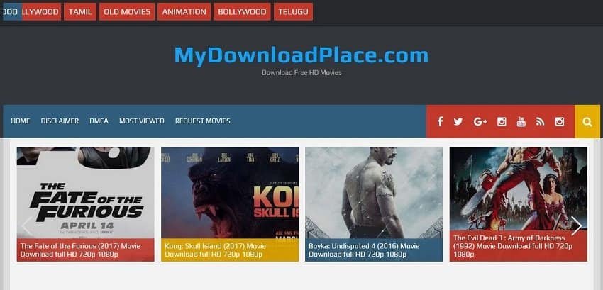 My Download Place HD MKV Movies