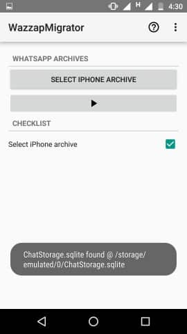 How to Transfer WhatsApp from iPhone to Android with Wazzup Migrator