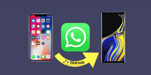 Transfer WhatsApp from iPhone to Samsung Galaxy Note 9 / 10