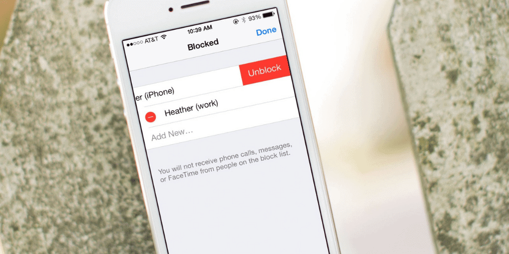 How to Unblock Someone on iPhone