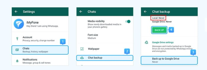 How to Backup WhatsApp Contacts on Android Device