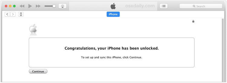 Restore iPhone to see if your phone is unlocked.
