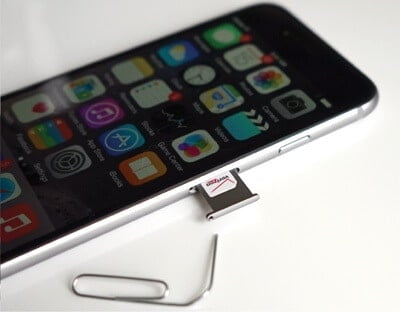 Use a SIM card issued by a different carrier to fix on 'How Do I Know If My Phone Is Unlocked'
