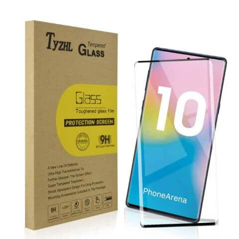Best Screen Protector For Note 10 - TyZHL Tempered Glass Screen Protector