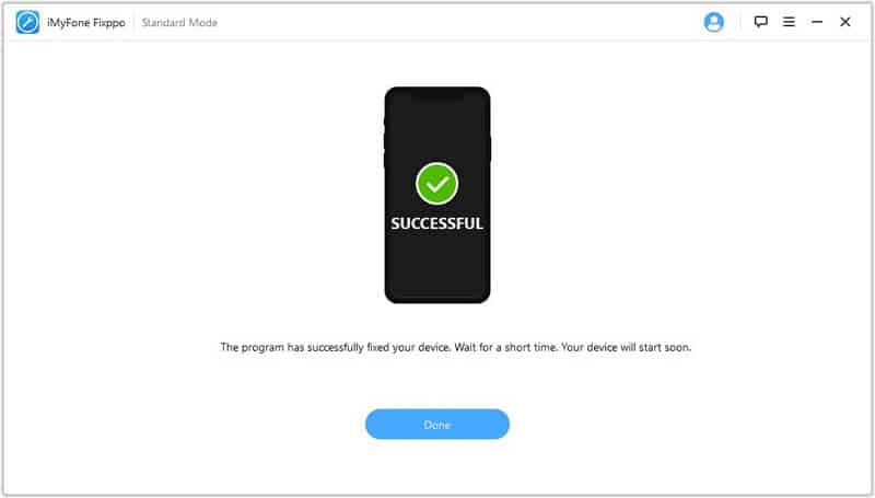 Resolve Software for This iPhone is Not Currently Available Using iMyFone Fixppo
