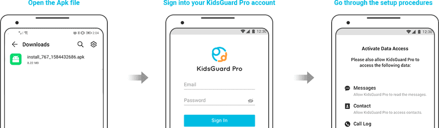 How to use KidsGuard Pro