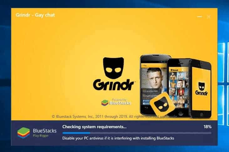 Enabling Grindr fake GPS on a computer
