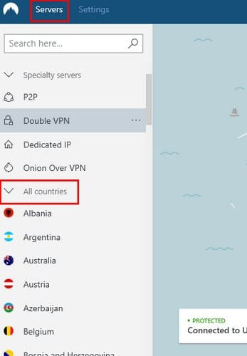 Get the help of a VPN service