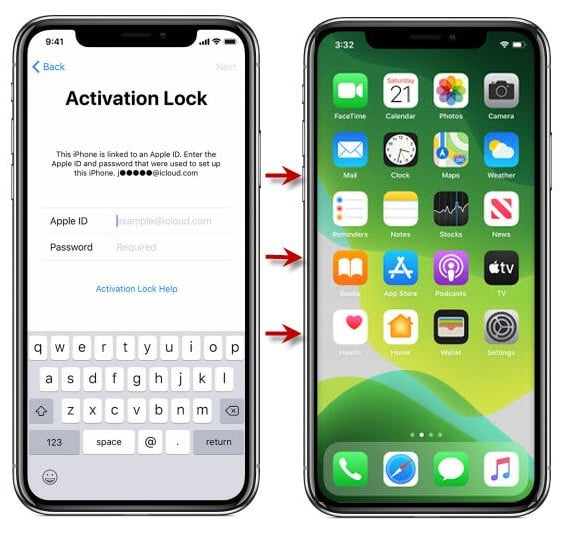 remove Find My iPhone activation lock without previous owner