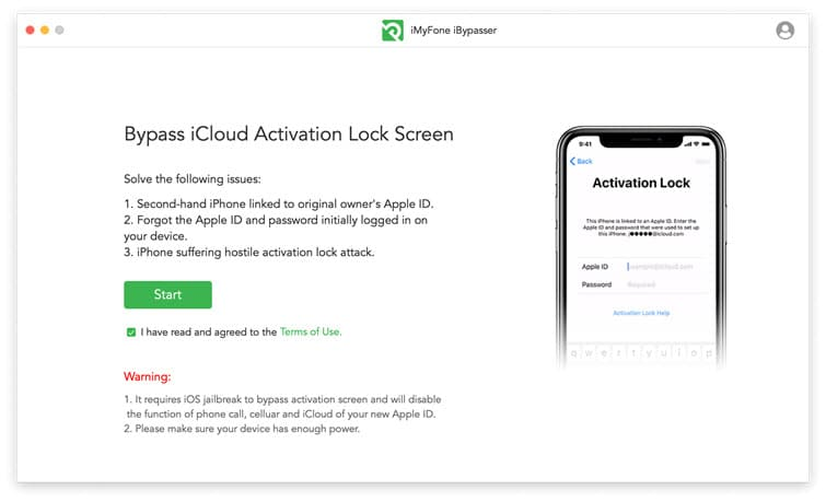 remove activation lock without previous owner using iBypasser