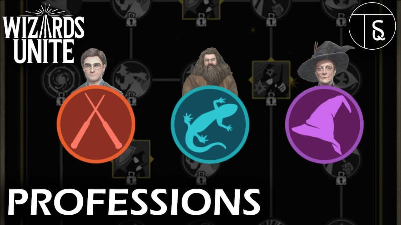 """""""Professions"""", """"Potions"""", """"Portkeys"""" and """"Spells"""""""