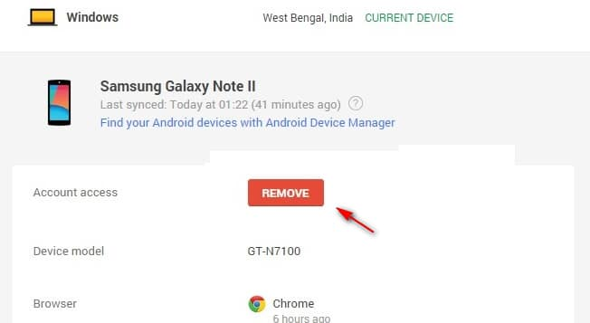 How to disable FRP lock remotely using Google ID