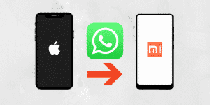 How to Transfer WhatsApp Messages from iPhone to Xiaomi
