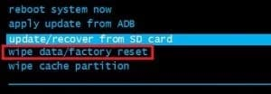 Perform a Master Reset to fix Downloading Do Not Turn Off Target