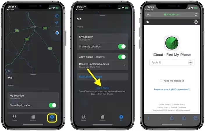 how to stop sharing location without them knowing by Using a different iOS device to change your device's location