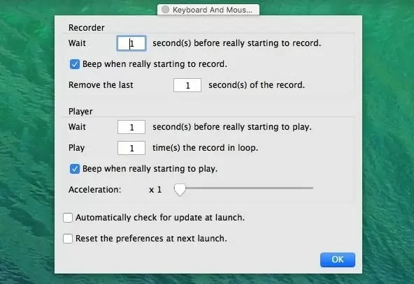 Alphaomega Recorder for both keyboard and mouse