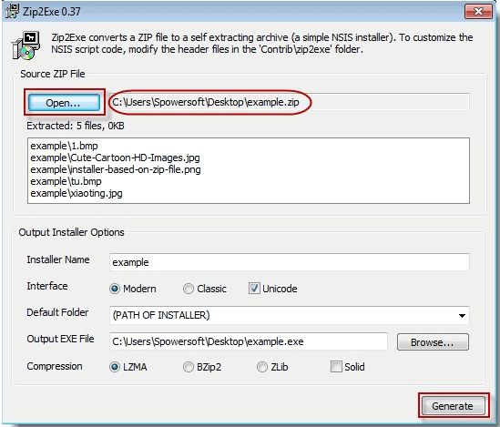 How to use NSIS and open password-protected ZIP file