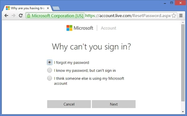 Unlock your PC Without Password with a Microsoft Account