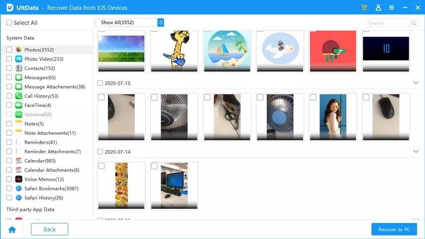 How to Get Photos Off Broken iPhone with Tenorshare UltData