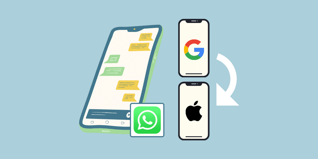 Transfer WhatsApp from Google Pixel to iPhone