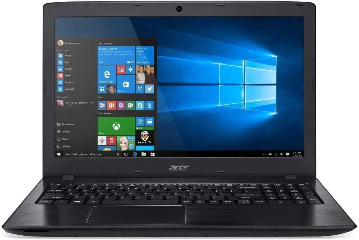 """Best Laptop with DVD - Acer 15.6"""" FHD Widescreen LED-Backlit Laptop"""