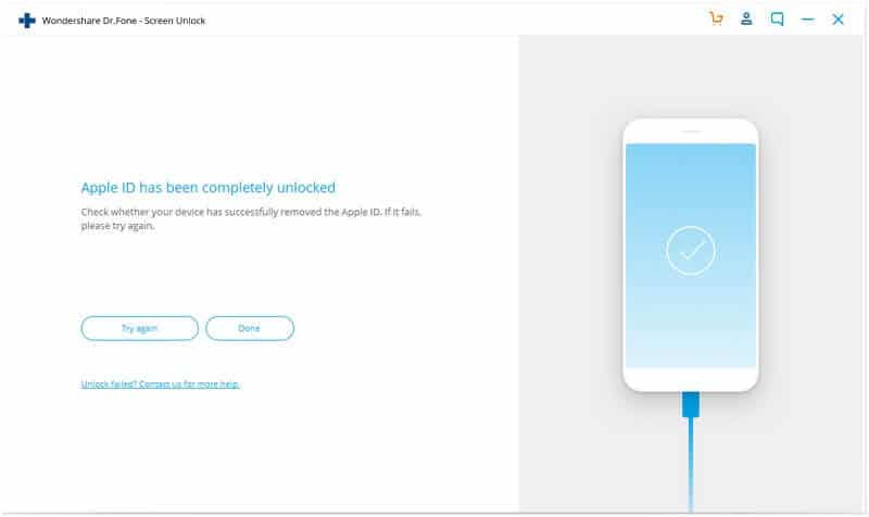 Fix Apple ID Grayed Out with Dr.Fone – Screen Unlock (iOS)