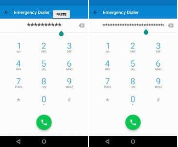 How to bypass Android lock screen using emergency call