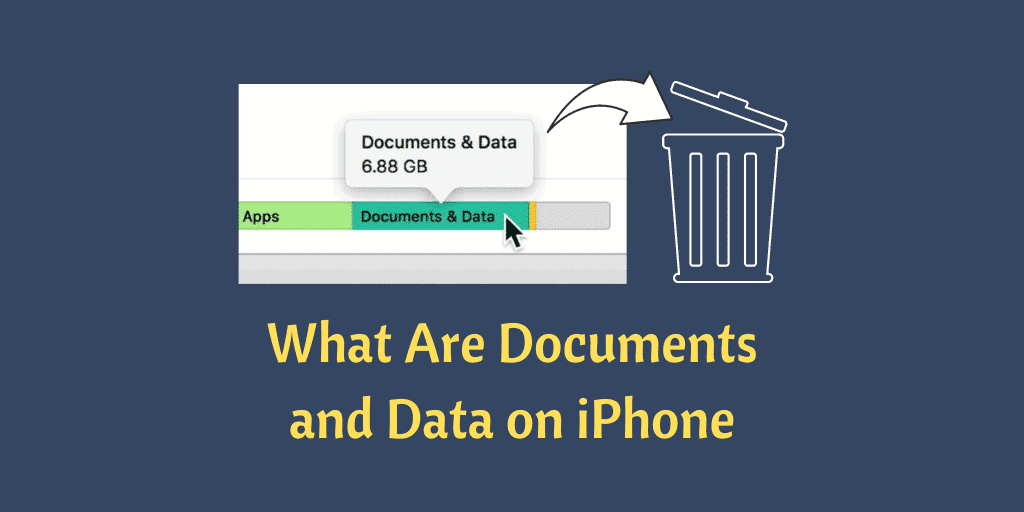 What Are Documents and Data on iPhone