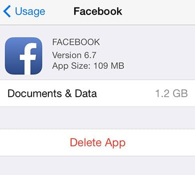 What are documents and data on iPhone or iPad