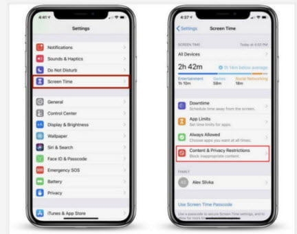 Fix Apple ID grayed out with Screen Time Passcode