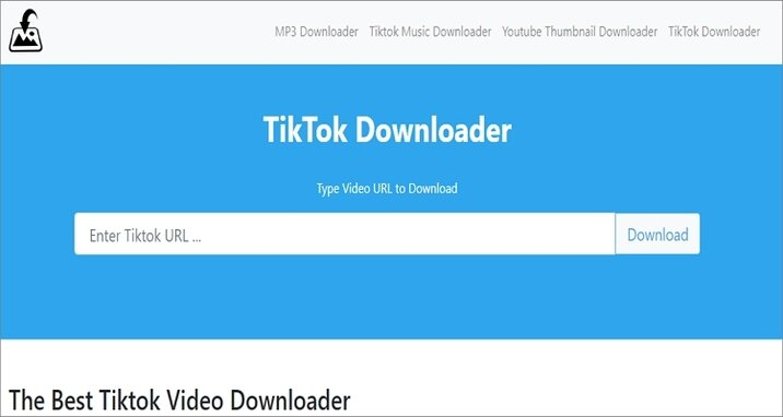 Downloaderi.com TikTok to MP4 Downloader