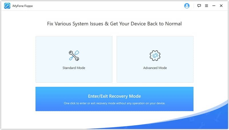 Fix iPhone Stuck on Restore Screen issue with iMyFone Fixppo