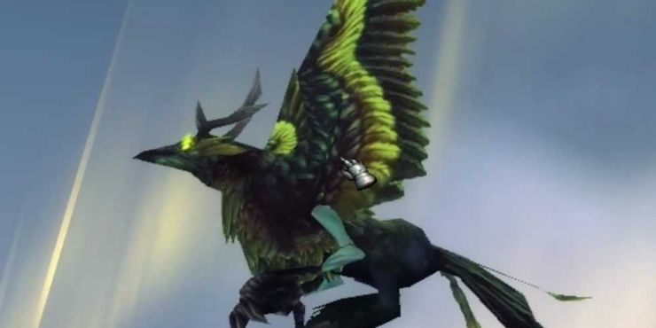 rarest mount in wow - Corrupted Hippogryph