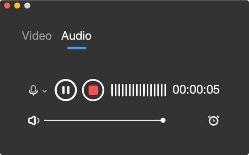 how to record internal audio on Mac with EaseUS RecExperts