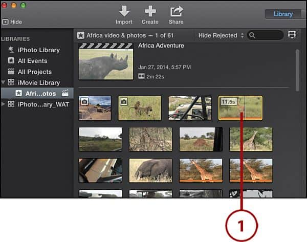 how to unblur a video Using iMovie