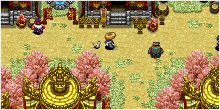 Best Samurai Games - Shiren The Wanderer: The Tower of Fortune and the Dice of Fate