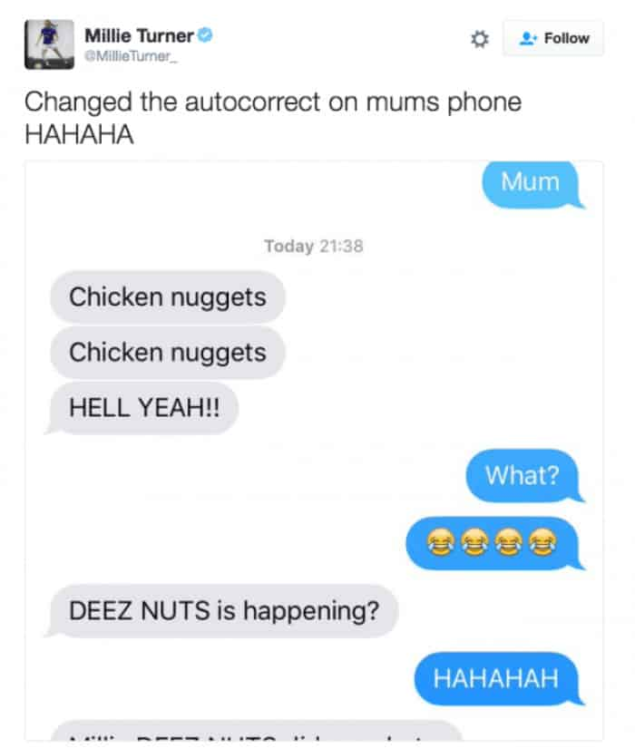 prank text messages - 05. This guy is so good!