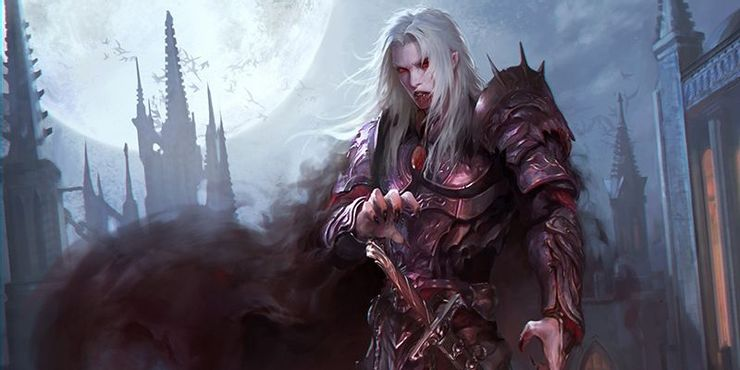 Best Necromancy Spells of Dungeons and Dragons - Vampiric Touch