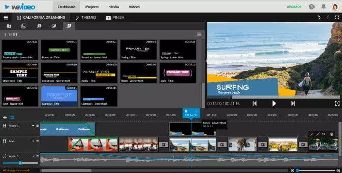 How to put multiple videos on one screen iMovie with Wevideo
