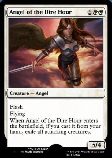 Angel of the Dire Hour (CMC:7)