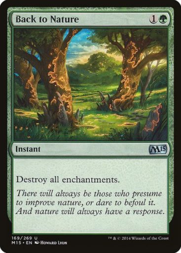 Best Green Cards MTG - Back to Nature
