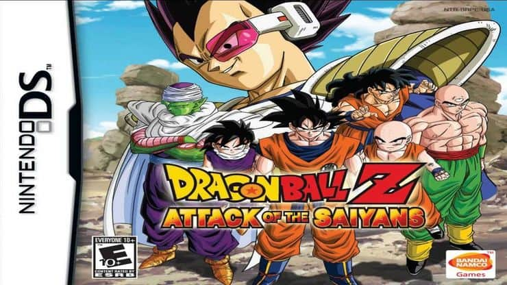 Best Dragon Ball Z Game - Attack of the Saiyans