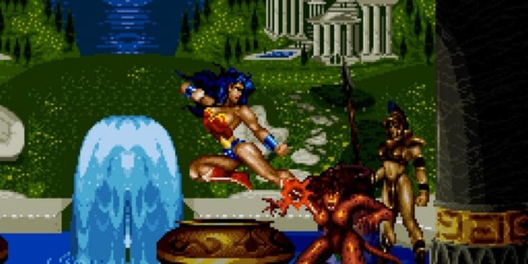 SNES Fighting Games – Justice League Task Force