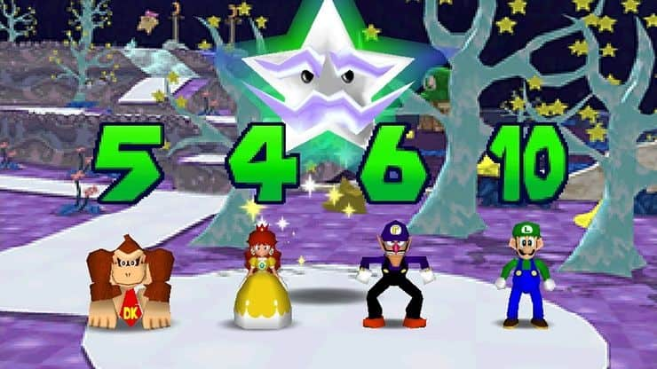 Mario party 3 for Wii