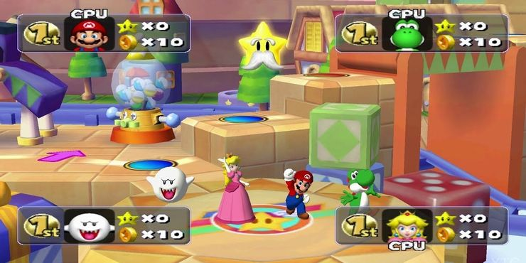 Mario party 5 for Wii
