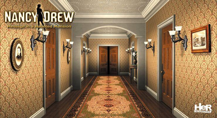 nancy drew games ranked - Message In A Haunted Mansion