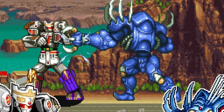 SNES Fighting Games – Mighty Morphin Power Rangers: The Fighting Edition