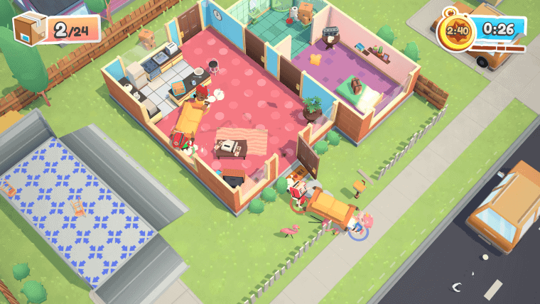 games like Overcooked - Moving Out