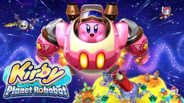 Rare 3DS Games - Kirby: Planet Robobot