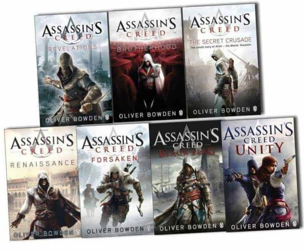 Best Book Based on Video Games - Assassin's Creed